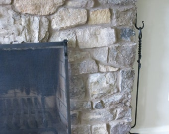 Made to order- Hand forged fireplace poker