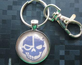 Premium Criminal Netrunner  Keychain