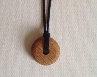 Irish oak pendant