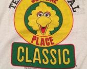 Vintage Big Bird Sesame Place Classic 5K T-Shirt