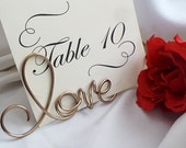Engagement Party Decor, Love Sign Holder, 1