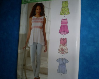 Simplicity 6286 Tunics Size 4-16.