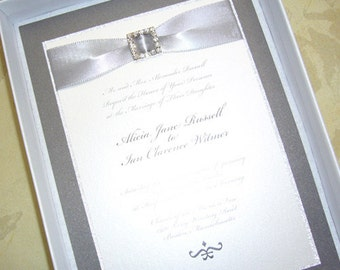 Sparkle & Shine Wedding Invitation