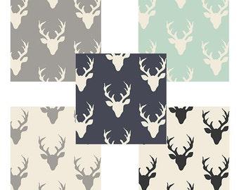 Crib Sheet - Buck Forest Sheet, Woodlands Crib Fitted Sheet