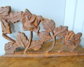 Old Cast Iron Architectural Salvage Display Piece
