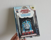 Thomas the Tank Engine Notebook handmade from a vintage Book 1980s