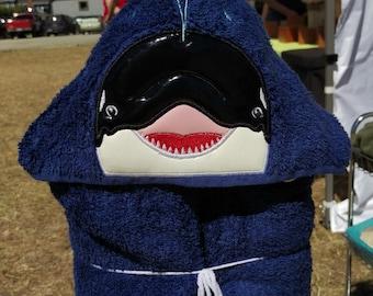 Orca Hooded Bath Towel
