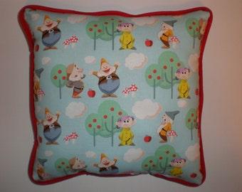 SALE Snow White's Seven Dwarfs Pillow