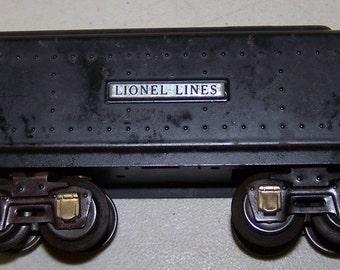 Vintage Lionel Prewar Tender