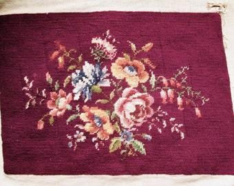 Vintage Needlepoint, Roses