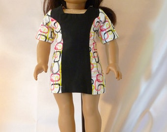 1960's style  Dress  for 18 inch American Girl dolls D038