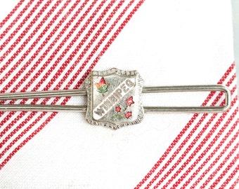 Winnipeg Tie Clip - Vintage City Crest - Souvenir from Canada