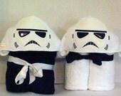 Galaxy Soldier (Storm Trooper) Hooded Towel