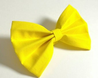 Cat or Dog Bow Tie - Yellow