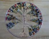 "Tree of life sun and dream catcher 10"" across"