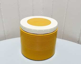 Vintage 1970s Mustard Yellow Thermos Insulated Jar