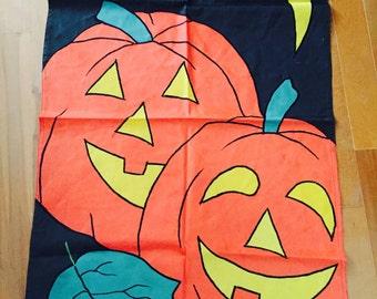Halloween Flag Outdoor Pumpkins Jack O Lantern Banner Holiday Flags
