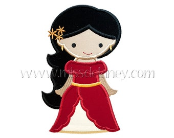 Princess of Avalor Applique Design