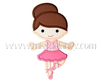 Ballerina1 Applique Design