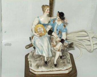 Capodimonte Lamp - Vintage
