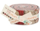 Le Marais cotton jelly roll by French General for Moda fabric