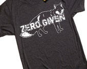 Zero Fox Given T Shirt - American Apparel mens T shirt - S M L Xl and Xxl (9 Color Options)