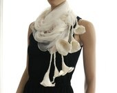 5pcs of Calla lilly scarves for wholesale