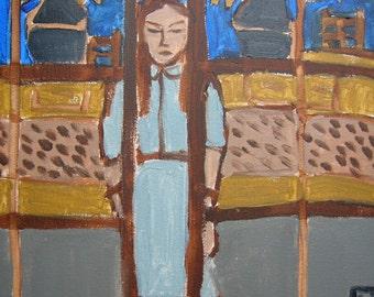 The Girl in the Doorway