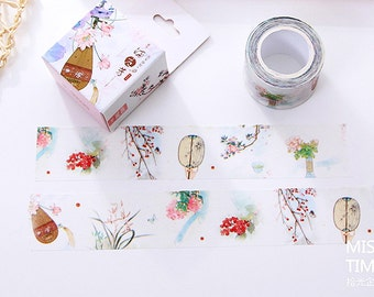 Song Poetry - Japanese Washi Masking Tape - 30mm Wide - 11 Yards