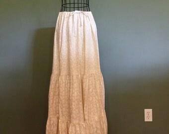 Handmade Boho Skirt, size S/M/L