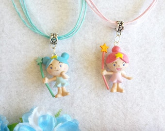 10 Fairy Necklaces Party Favors