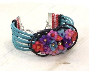 Bracelet Grace Bouquet Wicker