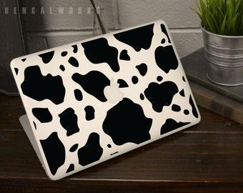 Cow Skin Macbook Decal | Macbook Sticker | Laptop Decal | Laptop Sticker