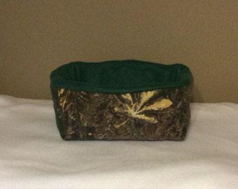 Rectangle Camo Small Animal Bed
