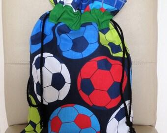 Football PE Bag, Soccer Bag, Football School Bag, Sports PE Bag, Football Gym Bag, PE Bag, Sports Bag, Shoe Bag, Boys Shoe Bag,
