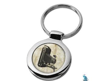 Keychain Vintage Camera Key Ring Fob