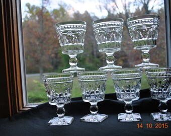7 -  Colony Clear Park Lane Water Glasses