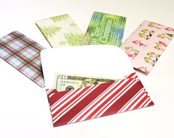 Christmas Money Envelopes, Decorative Cash Check Gift Paper Pouches, Financial Savings Plan Organizer, Budget Envelopes itsyourcountry