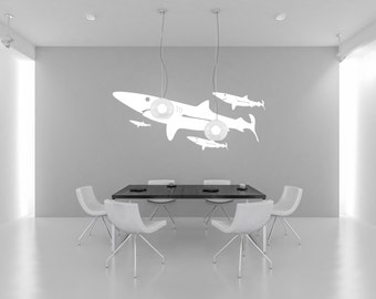 SHARK Vinyl Wall Decal Sticker, Nature, Self-Adhesive, Multiple Colors