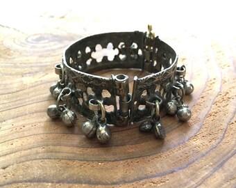 Vintage Kuchi Gypsy Jingle Bracelet