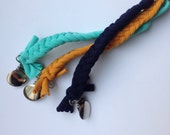Braided pacifier clip- choose your color