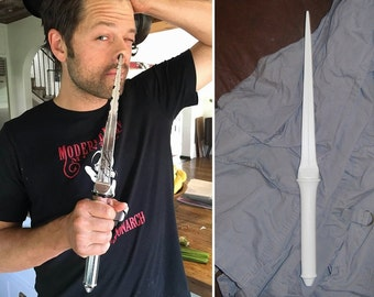 SALE Supernatural Angel Blade Prop Replica UNFINISHED Castiel Cosplay Season 12 Durable Accurate