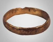 Vintage Wedding Band,  Marriage Ring from the Viking Age  C.866-1067A.D. Size 9  (18.9mm)(Brr931)