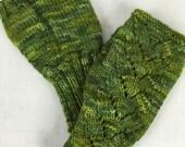 100% Merino Wool Fingerless Gloves, 114