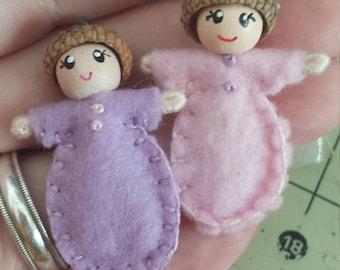 Baby Twin Girls