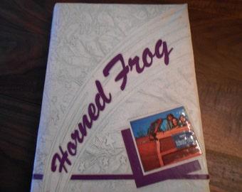 1947 Texas Christian University (TCU) Yearbook