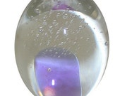 Crystal Paperweight, Egg Shaped