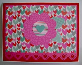 Valentine Wishes note card