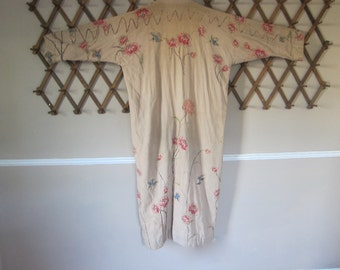 Vintage Theatre Costume, Covent Garden Theatre, Embroidered Jacket by B J Simmons & Co