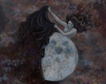 Moon Revealed - Fine Art Print